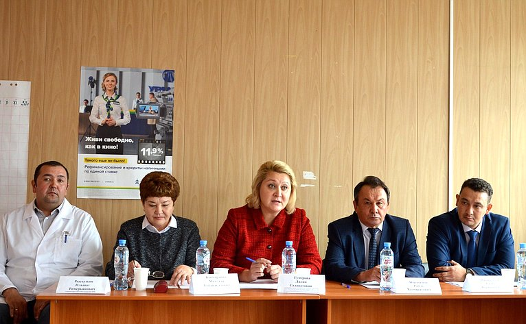 Лилия Гумерова провела встречу сродителями, воспитывающими детей-инвалидов