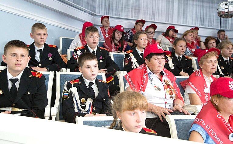 ВСФ прошла встреча сучастниками военно-патриотической акции «Мы помним. Так начиналась война»