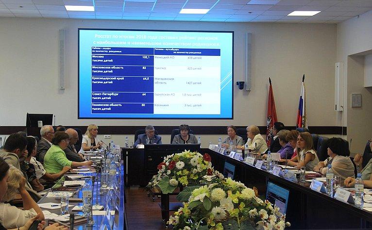 Заседание «круглого стола», посвященного современным глобальным трендам социальной работы