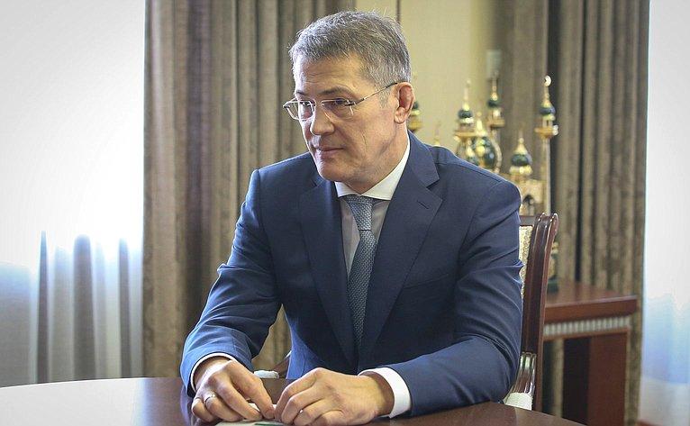 Врио главы Республики Башкортостан Радий Хабиров