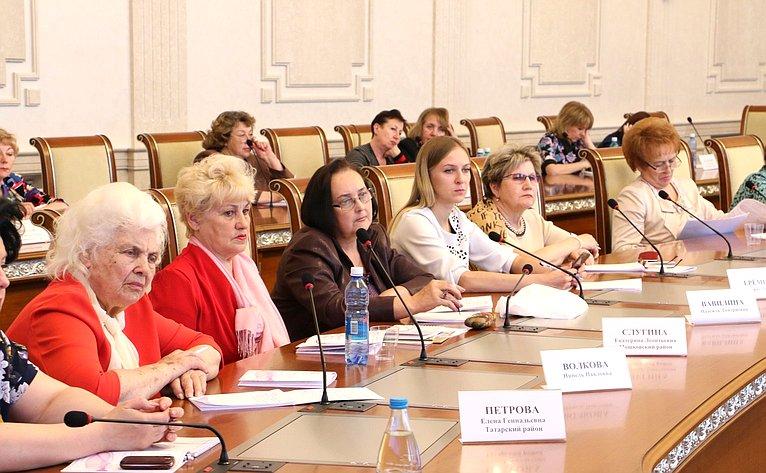 Встреча сженсоветами Новосибирской области
