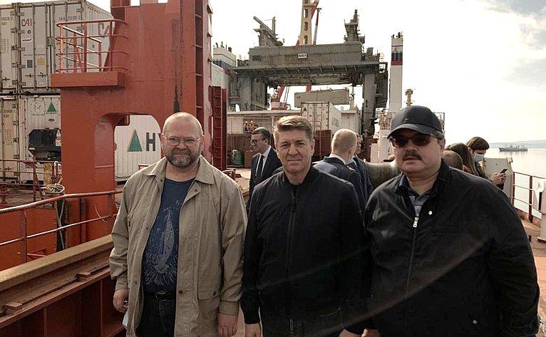 Олег Мельниченко, Андрей Шевченко иАнатолий Широков