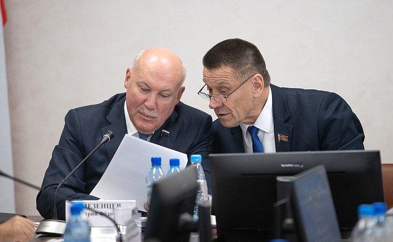 Дмитрий Мезенцев иВладимир Пантюхов