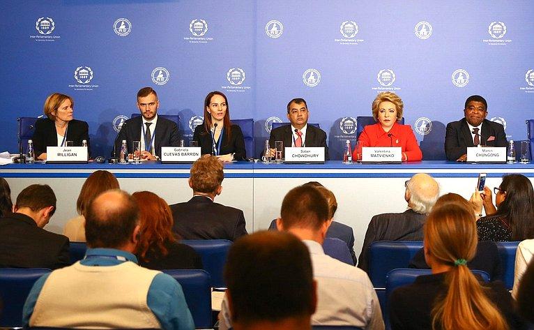 Пресс-конференция поитогам 137-й Ассамблеи МПС