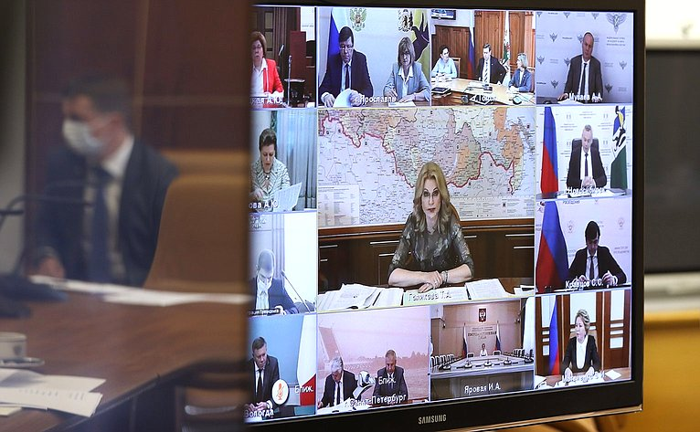 Совещание счленами Совета при Президенте РФ пореализации государственной политики всфере защиты семьи идетей