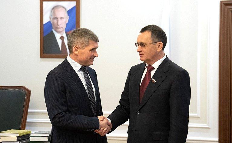 Олег Николаев иНиколай Федоров
