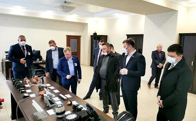 Рабочая поездка делегации Совета Федерации вУдмуртскую Республику