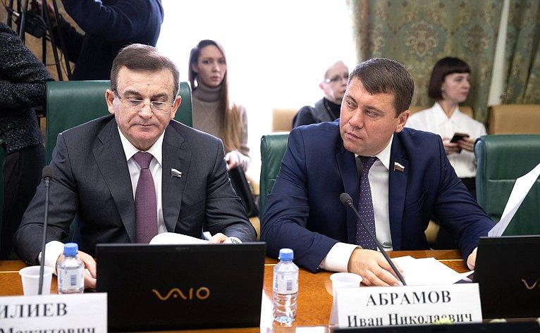 Муса Чилиев иИван Абрамов