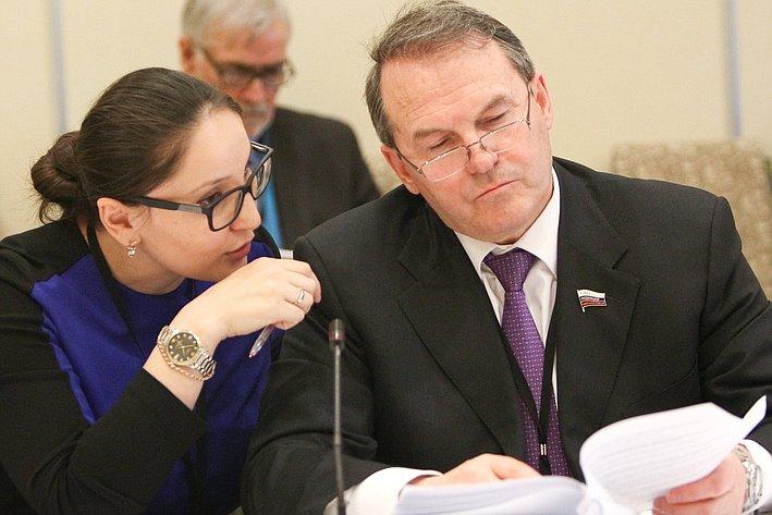 И. Морозов на24-й сессии АТПФ вВанкувере (Канада)