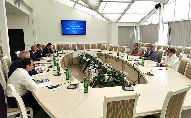 Выездное заседание Комитета СФ поРегламенту иорганизации парламентской деятельности