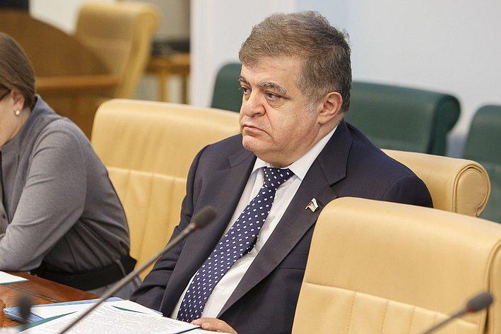 Заседание комиссия СФ по контролю за достоверностью сведений о доходах сенаторов -3 Джабаров