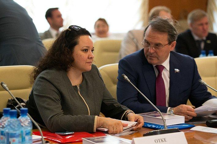 Визит делегации СФ в Якутию Отке и Морозов