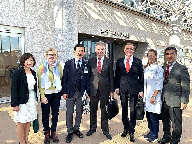 Игорь Каграманян всоставе делегации Ярославской области посетил Японию
