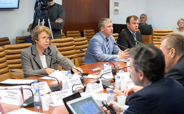 Совещание Комитета СФ побюджету ифинансовым рынкам натему «Обэффективности применения налоговых льгот, установленных законодательством РФ для инновационных научно-технологических центров»