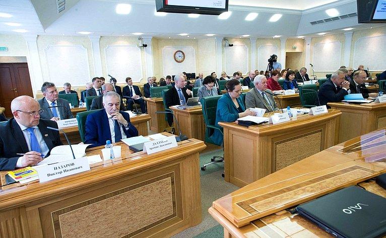Заседание президиума Совета поАрктике иАнтарктике натему «Оновых механизмах привлечения инвестиций вкрупные инфраструктурные проекты вАрктической зоне Российской Федерации»