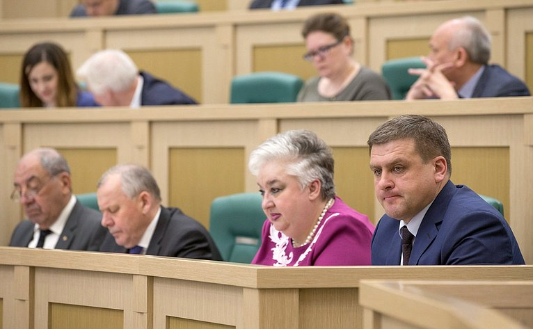 Заседание Совета поместному самоуправлению при Совете Федерации