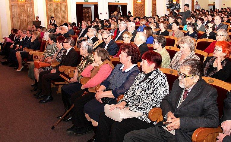 Т. Гигель приняла участие вторжественном мероприятии, посвященном Дню науки