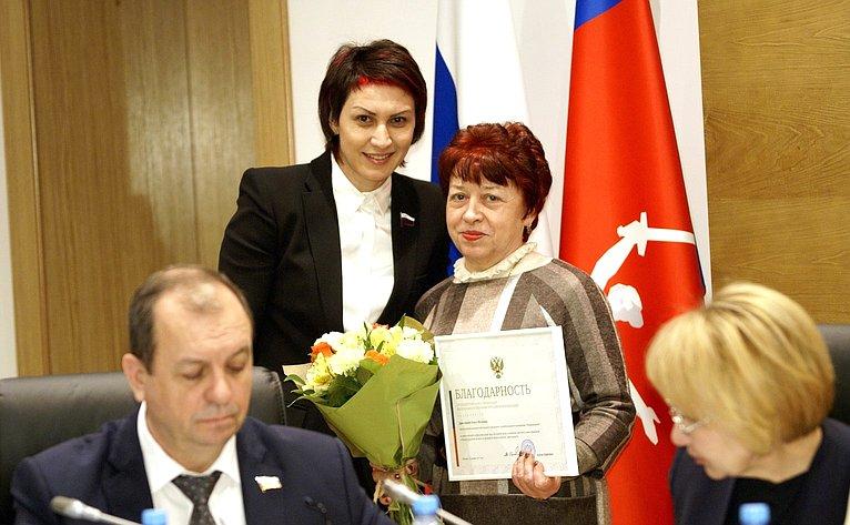 Т. Лебедева приняла участие взаседании Волгоградской областной Думы