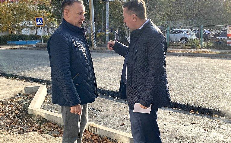 Олег Алексеев входе работы врегионе посетил г. Энгельс