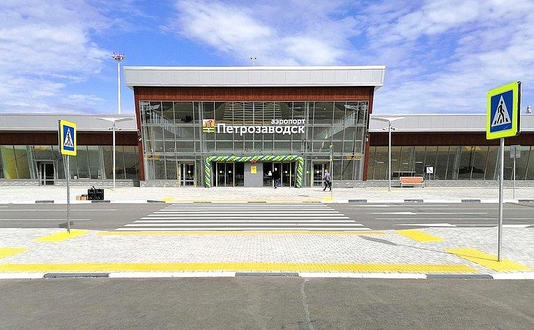 Открытие нового аэровокзала вПетрозаводске