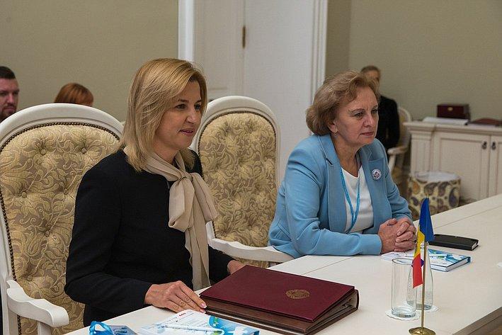 В. Матвиенко провела двустороннюю встречу с представителями Молдавии