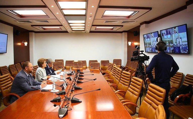 Заседание Совета повопросам жилищного строительства исодействия развитию жилищно-коммунального комплекса при СФ