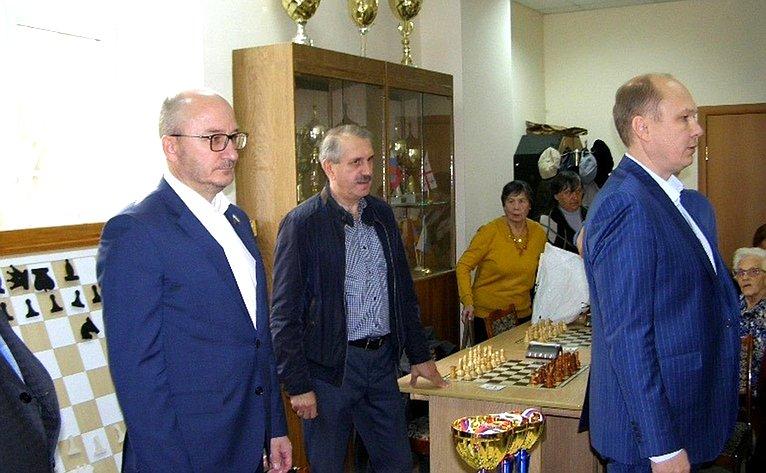 Олег Цепкин принял участие воткрытии финала областного турнира пошахматам среди ветеранов
