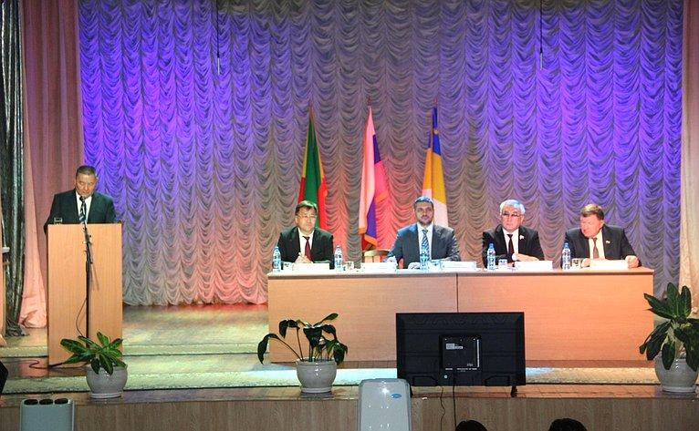 Баир Жамсуев принял участие витоговом совещании Администрации Агинского Бурятского округа Забайкальского края