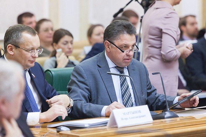 Заседание совета при Председателе СФ по вопросам жилищного строительства и содействия развитию ЖКХ Тимченко