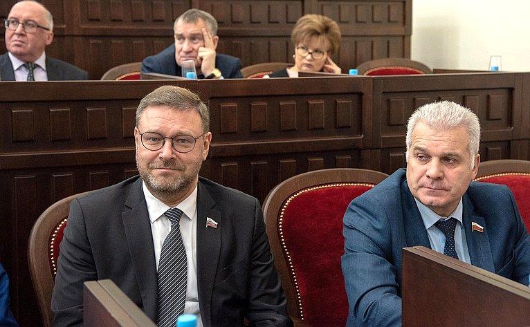 Константин Косачев иСергей Мартынов вМарий Эл