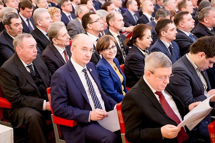 Совместное заседание СФ и ГД