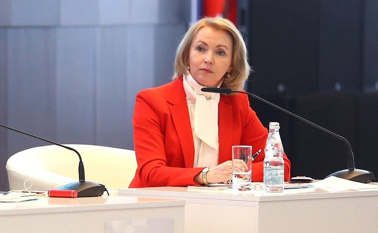 И. Гехт приняла участи е взаседании секции Форума социальных инноваций регионов
