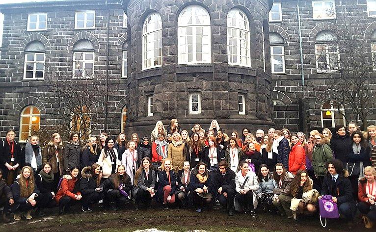 Ирина Гехт приняла участие вкампании «Девочек— влидеры» (#Girl2Leader), организованной поинициативе парламента Исландии врамках Глобального женского парламентского форума