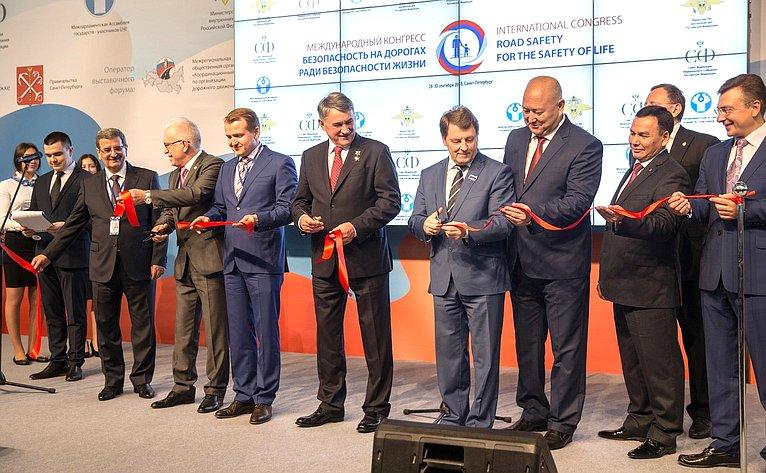 ВСанкт-Петербурге открылся выставочный форум, посвященный безопасности дорожного движения