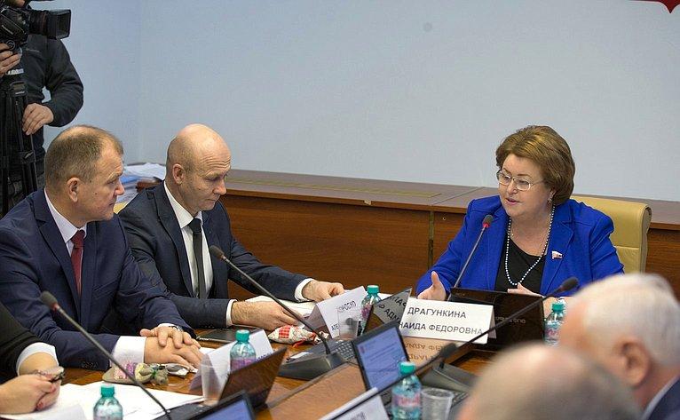 З. Драгункина проводит расширенное заседание Комитета СФ понауке, образованию икультуре