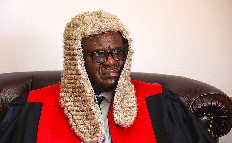 Председатель Национальной ассамблеи Республики Замбия Патрик Матибини