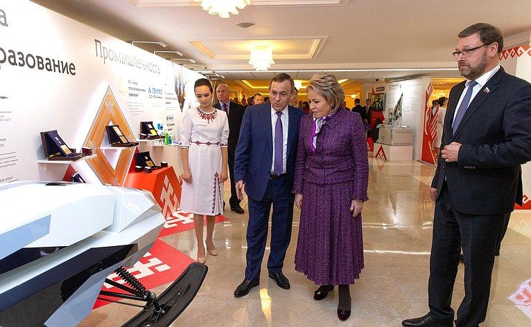 Открытие выставки марий Эл вСовете Федерации