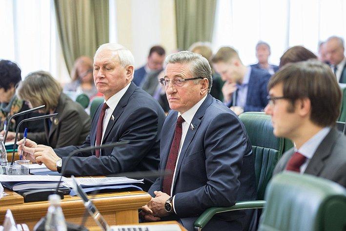 Заседание Совета по вопросам жилищного строительства и содействия развитию ЖКХ Лукин