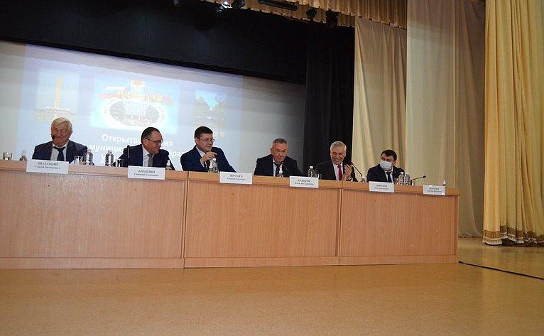 Владимир Бекетов принял участие всессии депутатов муниципального образования Успенский район Краснодарского края