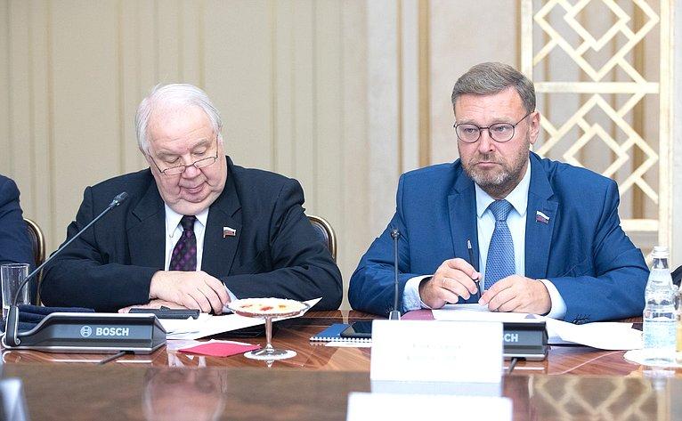 Сергей Кисляк иКонстантин Косачев