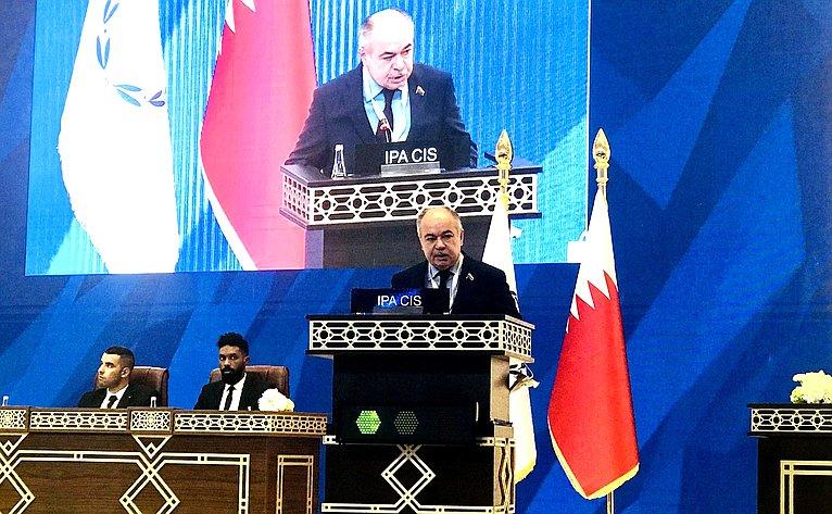Ильяс Умаханов выступил на140-й Ассамблее МПС