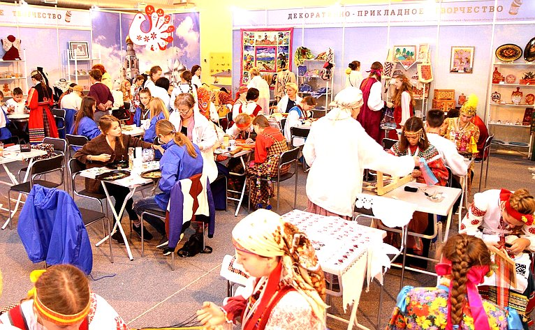 Открытие финала II Всероссийского детского фестиваля народной культуры «Наследники традиций»