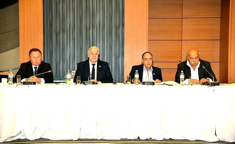 Сергей Попов принял участие взаседании Международного секретариата, председателей идокладчиков комиссий Межпарламентской ассамблеи православия