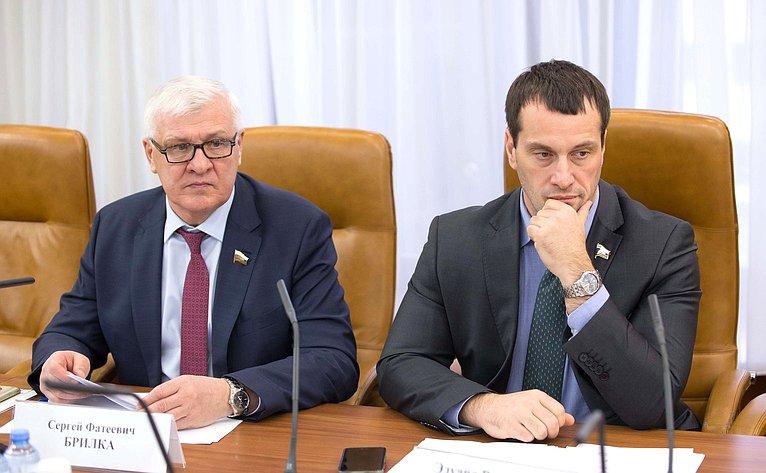 Сергей Брилка иЭдуард Исаков
