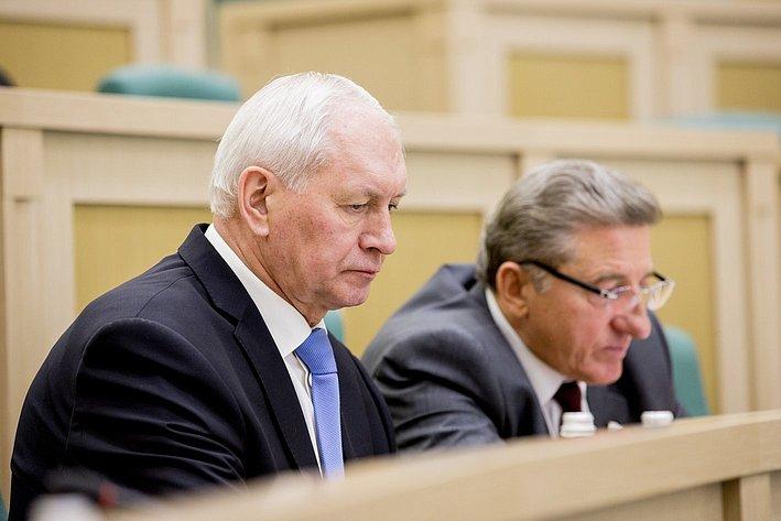 353 заседание СФ Тихомиров и Лукин
