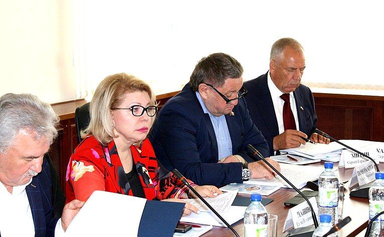 Сергей Митин принял участие взаседании Комиссии Парламентского Собрания Союза Беларуси иРоссии поэкономической политике