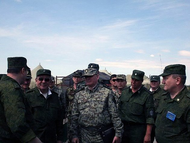 В. Озеров принял участие в управленческом учении «Южный Урал – 2013»