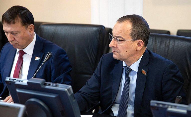 Заседание Комиссии Совета законодателей повопросам законодательного обеспечения национальной безопасности ипротиводействию коррупции