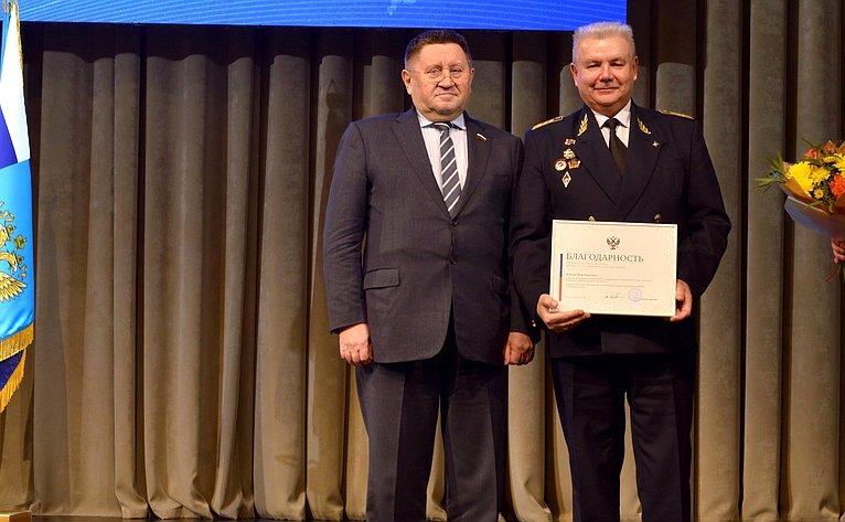 Михаил Пономарев принял участие вторжественном мероприятии, посвященном празднованию 95 летнего Юбилея Гражданской авиации России