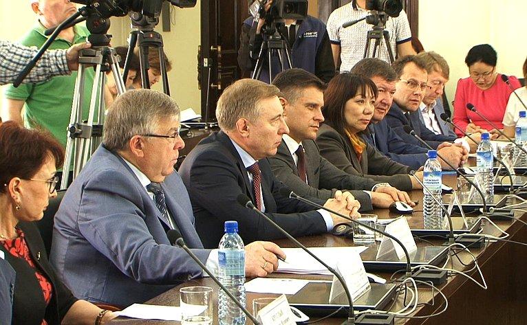 Выездное заседание Комитета СФ посоциальной политике